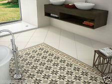 Shaftesbury Vintage Victorian Geometric Encaustic Patterned Wall Floor Tiles