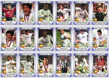 Real Madrid European Champions League winners 1998 football trading cards