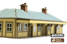 """4GROUND OO-TS-103 00 Scale """"Hanford Station"""" Station Building Laser Cut Kit NEW"""