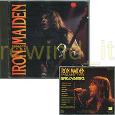 "IRON MAIDEN ""ENGLAND 1988"" RARE CD ITALY 1992"