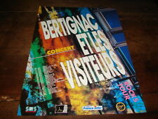 BERTIGNAC ET LES VISITEURS - PUBLICITE DATES CONCERT !!