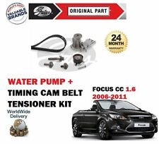 FOR FORD FOCUS CC 1.6 16v CABRIO 2006-2011 TIMING CAM BELT KIT + WATER PUMP SET