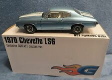 1970 Chevelle LS6 BLUE - 1 of 200 - 1/18  ACME GMP GUYCAST EXCLUSIVE - RARE