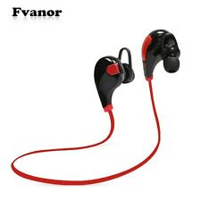 Wireless Bluetooth 4.0 SPORT Headset Stereo Headphone Earbud For iPhone Samsung