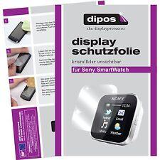 1x Sony SmartWatch Schutzfolie klar Displayschutzfolie Folie unsichtbar Display