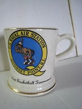 U.S.Naval Air Station Quonset Point R.I. Norlant Basketball Tournament Mug / Cup