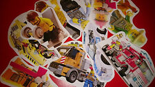 50 MINI LEGO CITY UNDERCOVER VINYL STICKERS PARTY BAG FILLERS