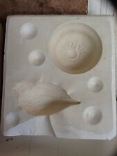 """Bell #1010 """"Bird Perched On Base"""" Plaster Casting Ceramic Mold"""