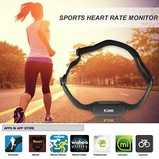 Bluetooth 4.0 Wireless Sport Heart Rate Monitor Chest Strap Band Running C8W9