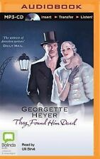 They Found Him Dead by Georgette Heyer (CD-Audio, 2014)