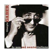 CD Giorgio Gaber- io non mi sento italiano