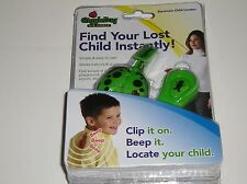 Security Plus Giggle Bug Child Locator Green Color Personal Alarm Safety