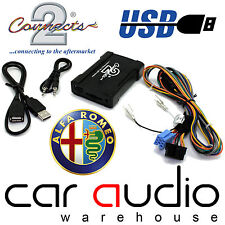 Connects2 ctaarusb001 ALFA ROMEO 147 156 00 & GT AUTO USB SD AUX In Adattatore Interfaccia