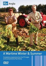 A WARTIME WINTER AND SUMMER Paul Heiney NEW 2 DVDset SECOND WORLD WAR FARMING
