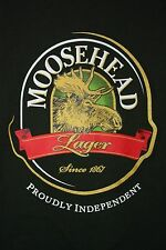 Moosehead Lager Proudley Independent Since 1867 T-Shirt Medium