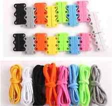 Black Lazy Magnetic Shoelaces Shoe Closures Buckles Shoelaces No-tie Lacing