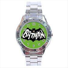 Reloj De Pulsera nuevo * Hot Batman Cartoon Análogo De Acero Inoxidable Regalo