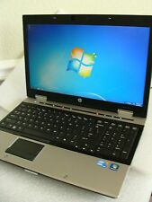 "HP EliteBook 8540p 15.6"" Core i5 2.53/4/320GB Win7 1600x900 NVidia Gaming Laptop"