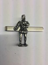Tudor William Shakespeare WE-TP1S  English Pewter emblem on a Tie Clip (slide)