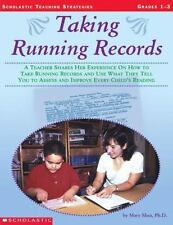 Taking Running Records: A Teacher Shares Her Experience on How to Take Running R