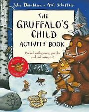 THE GRUFFALO'S CHILD ACTIVITY BOOK by JULIA DONALDSON & AXEL SCHEFFLER STICKERS