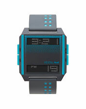 NEW VESTAL DIGICHORD GREY BLUE SCUBA SURF SNOW SUP SPORTS WATCH