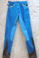 Esperado Damen Reithose, 3/4 Vollbesatz,Gr.76 blau , Modell Ischgl(1010 )