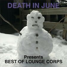 DEATH IN JUNE Best of Lounge Corps - LP / Blue Vinyl-Limited 358 + Downloadcode