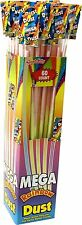 60 Mega Jumbo Swizzels Rainbow Dust Sherbet Straws Party Bag Fillers Retro Candy