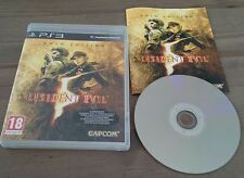 Resident Evil 5 Gold Edition PS3 comme neuf) sans rayure