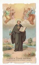 Santino Holy Card S.Nicola da Tolentino