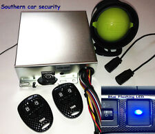 TOAD Ai606 CARBON BLUE THATCHAM CAT 1 CAR ALARM Ai606 Blue LED & Carbon FOBS