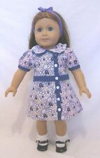"""Doll Clothes AG 18"""" Ruthie's Floral Dress Made To Fit American Girl Dolls"""