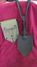 """Military Entrenching Tool With Hard Shell CaseTri-Fold Shovel """"US"""" 4914103"""