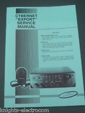 CYBERNET EXPORT SERVICE MANUAL   cb radio Colt Hygain Tristar Ham International