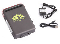 Quad band Vehicle tracker tk102b hidden GPS GSM GPRS system Hard-wired Charger
