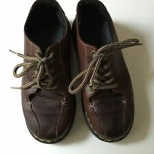 DR. DOC MARTENS Shoes Size 7 Leather Oxfords Women's Brown Lace Up