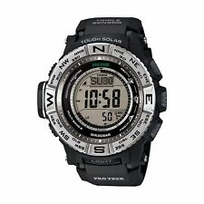 New In Box Casio Protrek Tough Solar Triple Sensor Atomic Watch PRW3500-1