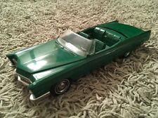Vintage 1967 Green Cadillac DeVille Convertible Friction Promo Car, Made In USA!