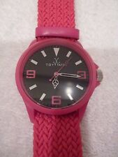 TOYWATCH ST TROPEZ PINK WATCH stainless steel-NEW