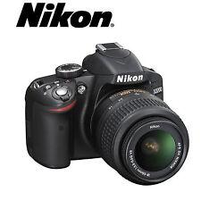 Camara Reflex Nikon D3200 + Objetivo + Bateria + Cargador Usada