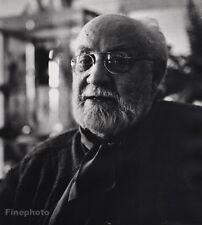 1951 Vintage 16x20 HENRI MATISSE France Artist Painter Fine Art PHILIPPE HALSMAN