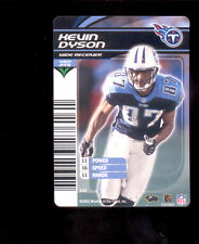 2003 NFL Showdown KEVIN DYSON Tennessee Titans Rare Card