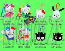 HELLO KITTY (with stickers) clip-on toy #3 HELLO KITTY McD/Sanrio (2001) *NIOP