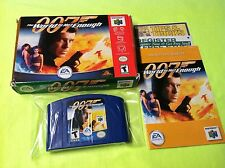007 The World is Not Enough Complete in Box Nintendo 64