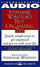Stephanie Winston's BEST ORGANIZING TIPS Audio Book Cassette FREE SHIPPING!