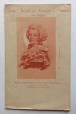 CPA. MARIE ANTOINETTE.  Reine. 1755-1793. Histoire. Politique. Galerie. DND