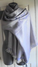 BLUMARINE SCARF PASHMINA 100% SILK made in Italy  WIDE LONG NEW TAGS RRP £225
