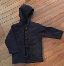 Old Navy ~ boy's Charcoal Gray Toggle Coat ~ Size 4T ~ Classic