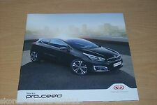KIA - The New Pro_cee'd Sales Brochure 9/2015
